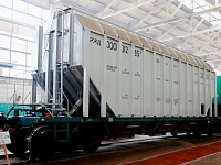 RM Rail has certified the first aluminum alloy rail car in Russia